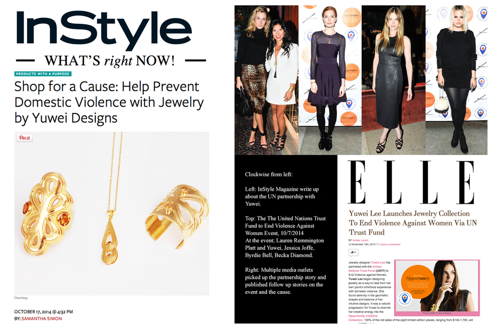 INSTYLE and ELLE