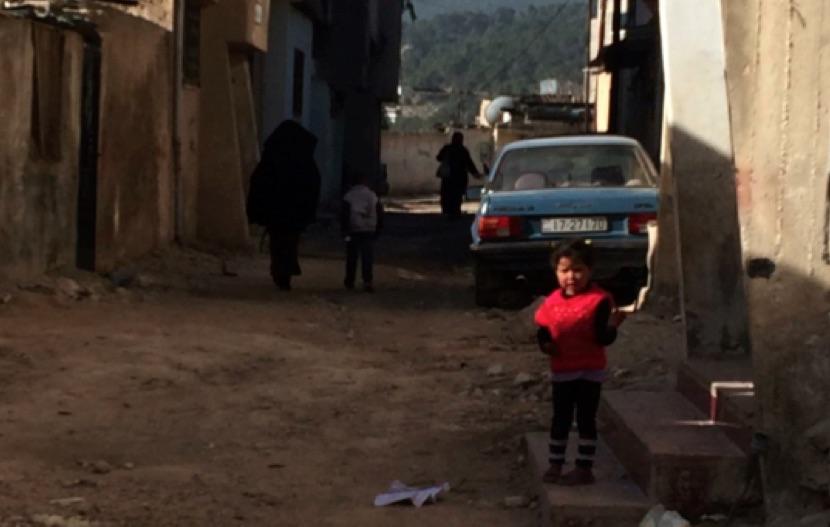 Gaza Palestinian Refugee Camp in Jarash, Jordan