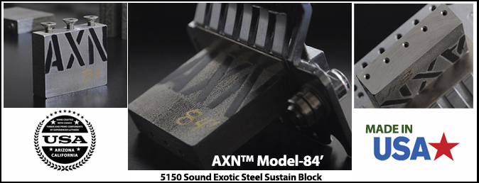 AXN™ MODEL-84' STEEL SUSTAIN BLOCK