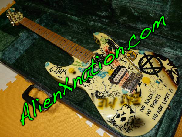 ESP George Lynch Mr. Graffiti Guitar