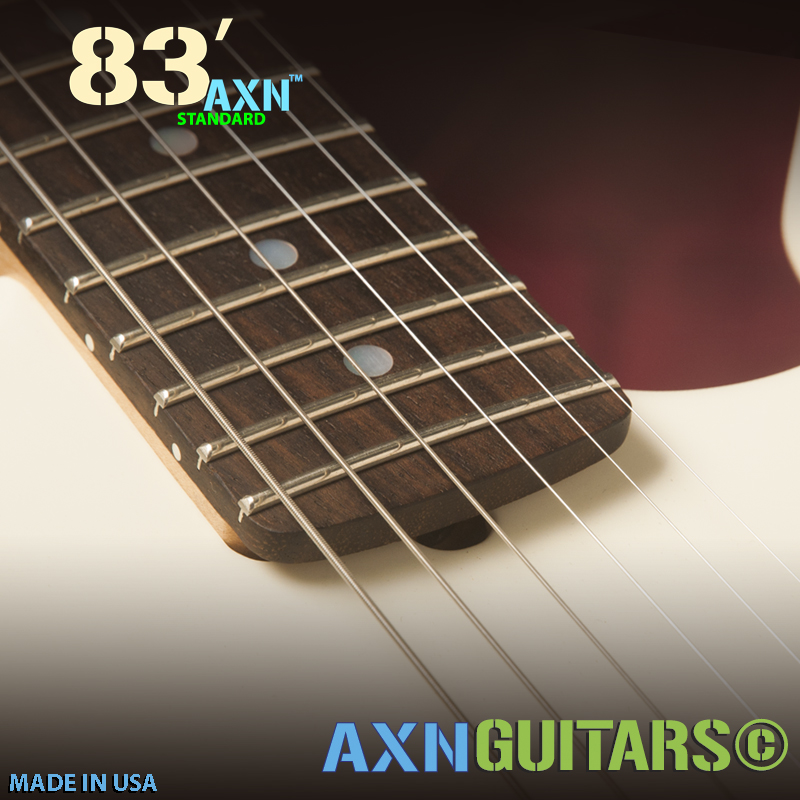 AXN™- 83'S - Truss Rod Notch, prime Rosewood Fretboard