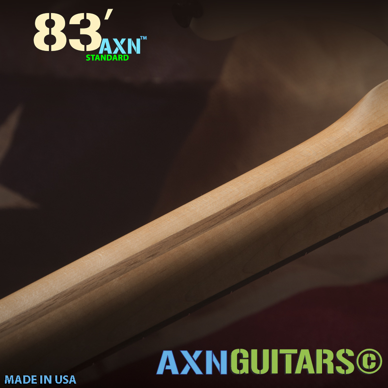 The AXN™- 83'S - Holy Grail Neck Shape