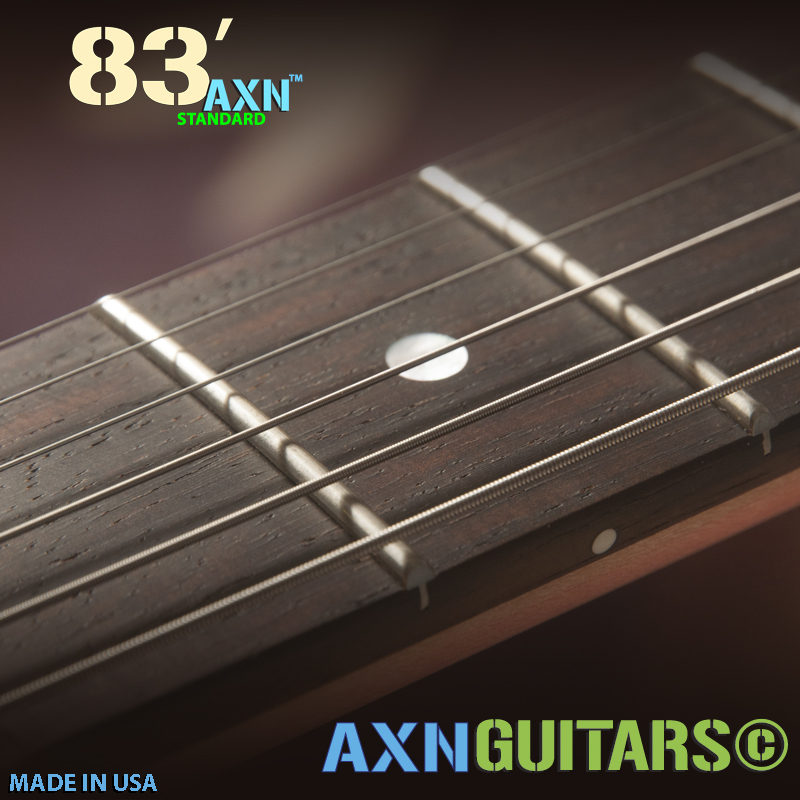 The AXN™- 83'S - Exact Holy Grail Fretboard Radius