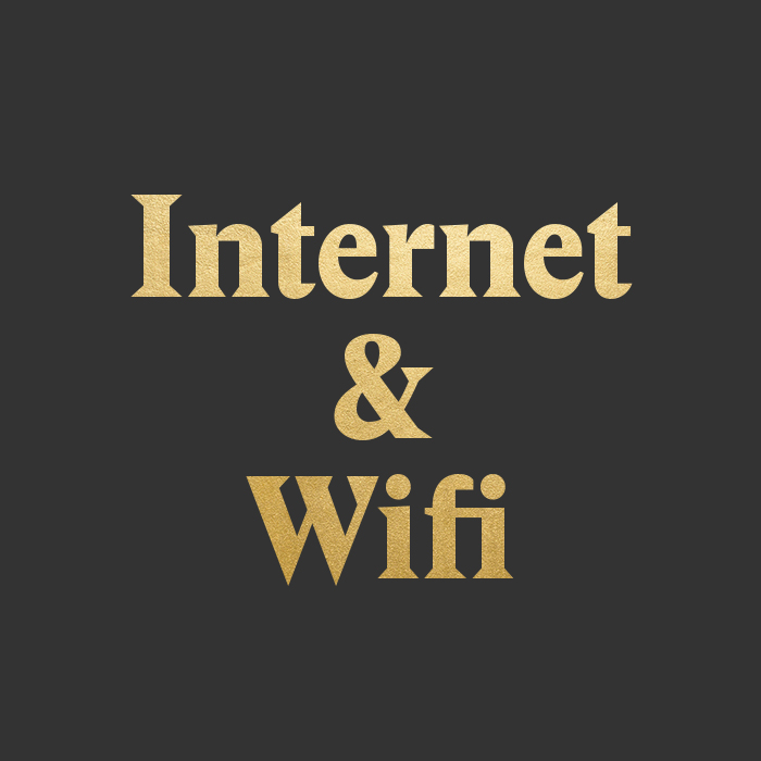 Internet and wifi