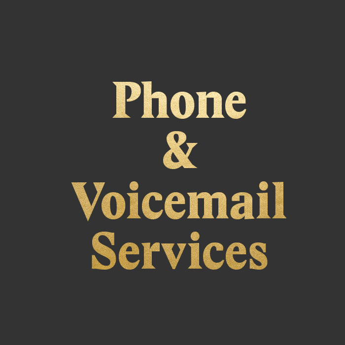 Phone and Voicemail Services
