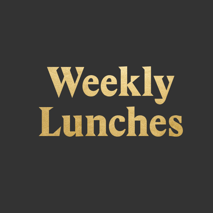 Weekly Lunches