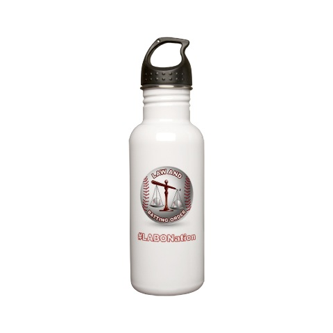 Quench your thirst with the OFFICIAL LABO water bottle!  $16.00 via Cafepress.com, prices varies if you purchase bulk.