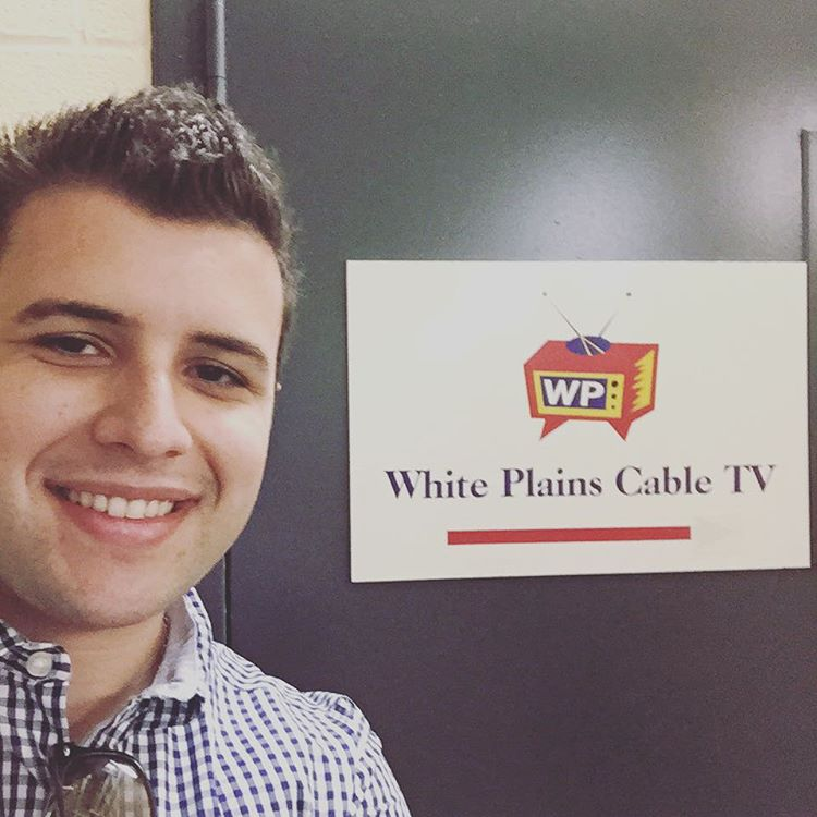 My visit to White Plains Cable TV for a TV interview