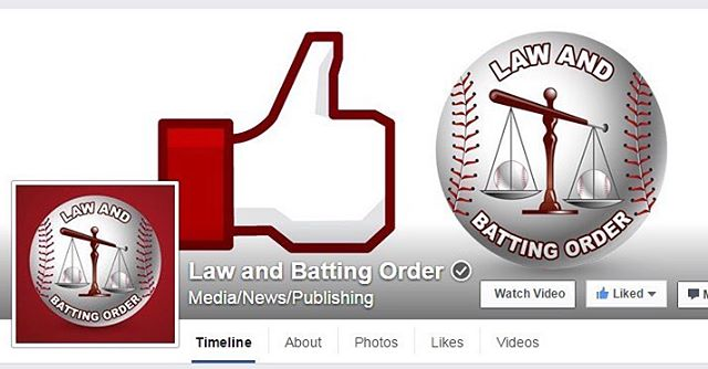 "You see that checkmark next to the ""Law and Batting Order"" name? Yup, it's official. LABO is OFFICIALLY Facebook verified! It's not the conventional blue checkmark, but a checkmark nonetheless. Super proud of this accomplishment!"