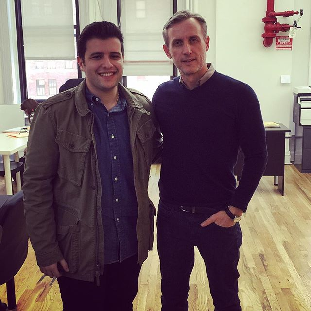 Yes, I had a chance to meet Dan Abrams, and yes, it was AWESOME.
