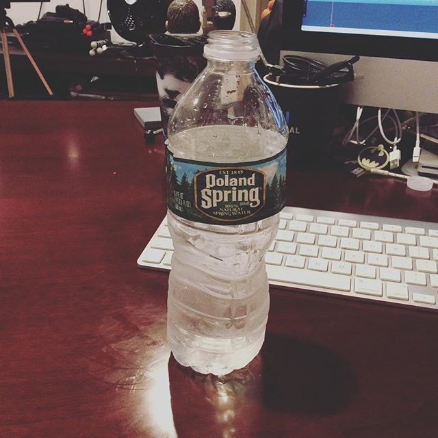 It sounds silly but any journalist will tell you that aside from good communicative and research skills, a bottle of water is paramount. New episode coming up soon.