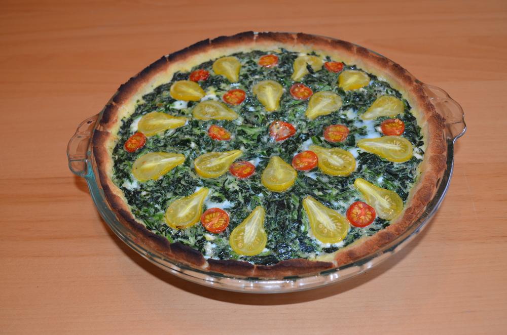 Mediterranean Quiche with Coconut Flour Crust