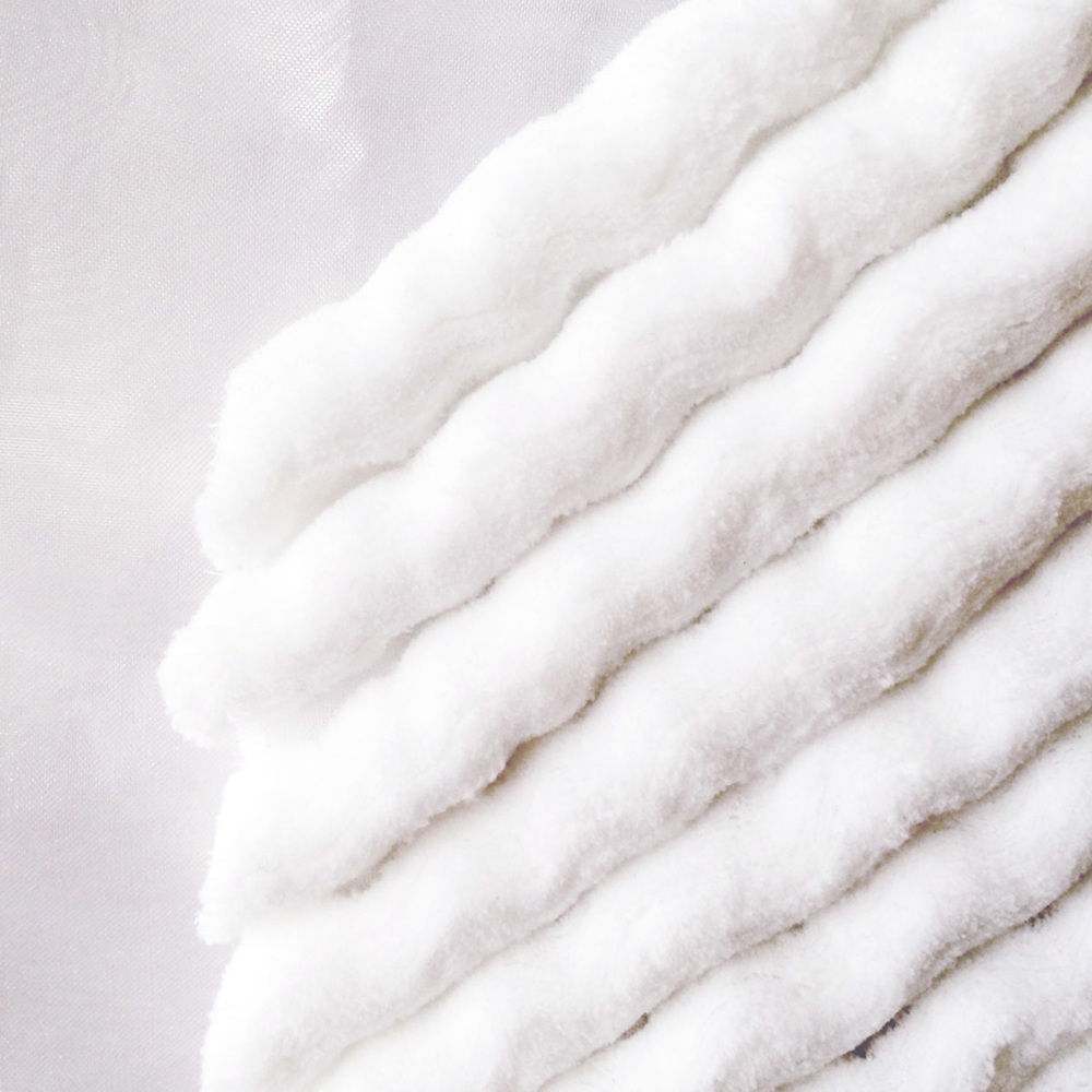 """White Out"" featured textiles at Toronto Offsite Design - Jan 2015"