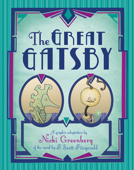 Great Gatsby Book Cover Ideas : The great gatsby — nicki greenberg