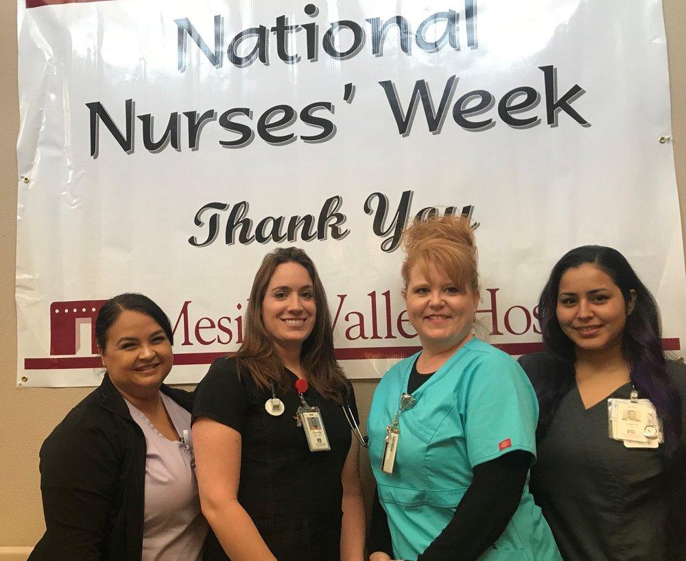 Nurse's Week-J.Holguin, C.Sanchez,J.Bell, S.Sanchez.jpg