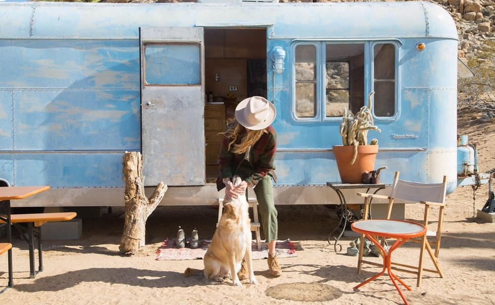 1951 Vagabond Trailer in Joshua Tree
