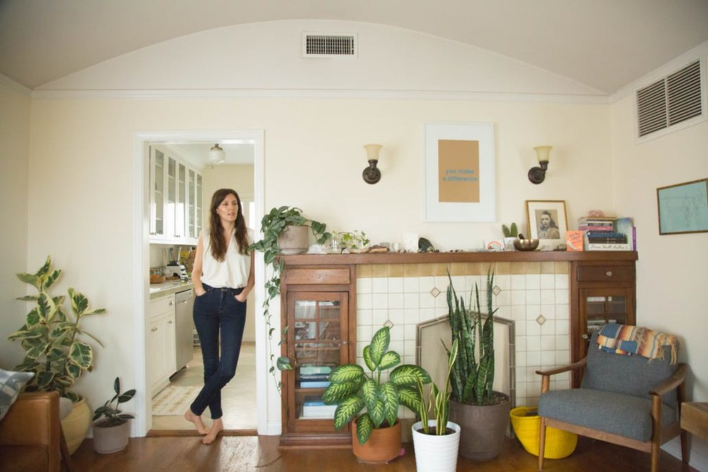A Healer's Sun-filled LA Home.