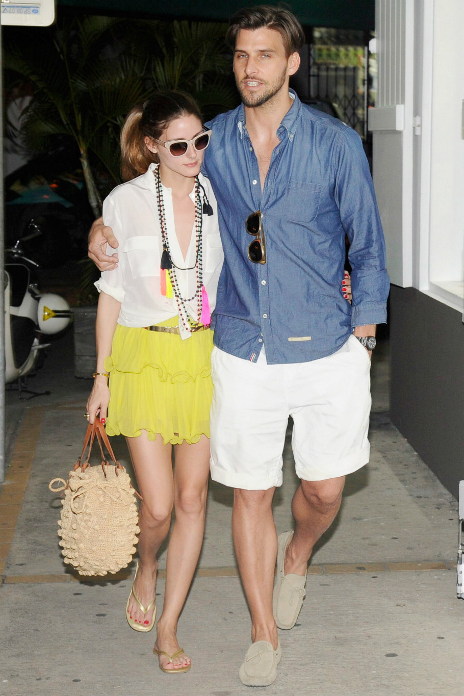 Olivia-Palermo-yellow-skirt-tassel-necklace-st-barts.jpg