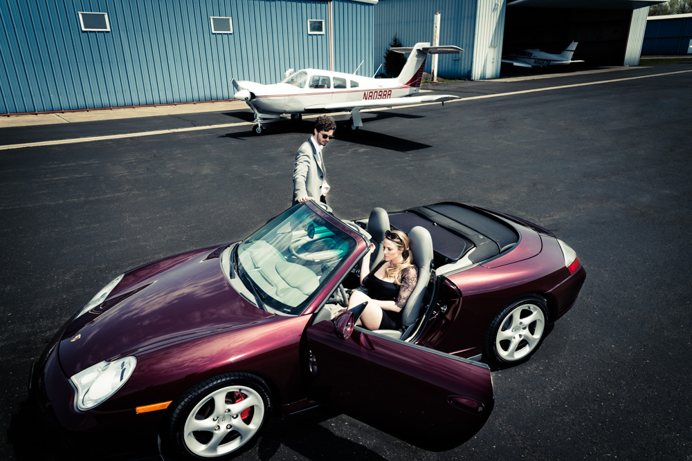 Porsche & Planes by Anthony Bianciella
