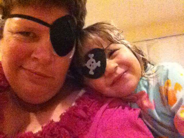 """""""Let's be pirate princesses,"""" said my daughter."""