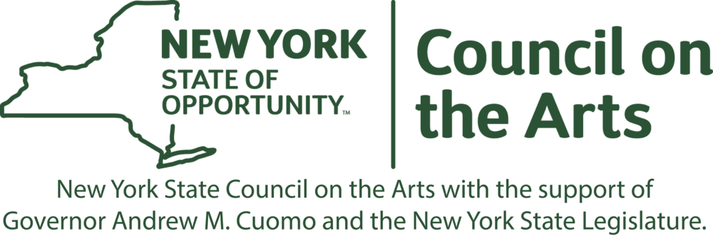 Denniston Hill's residency is   made possible by the New York State Council on the Arts with the support of Governor Andrew M. Cuomo and the New York State Legislature.