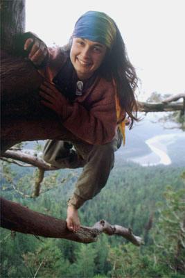 Julia 'Butterfly' Hill,  born February 18, 1974