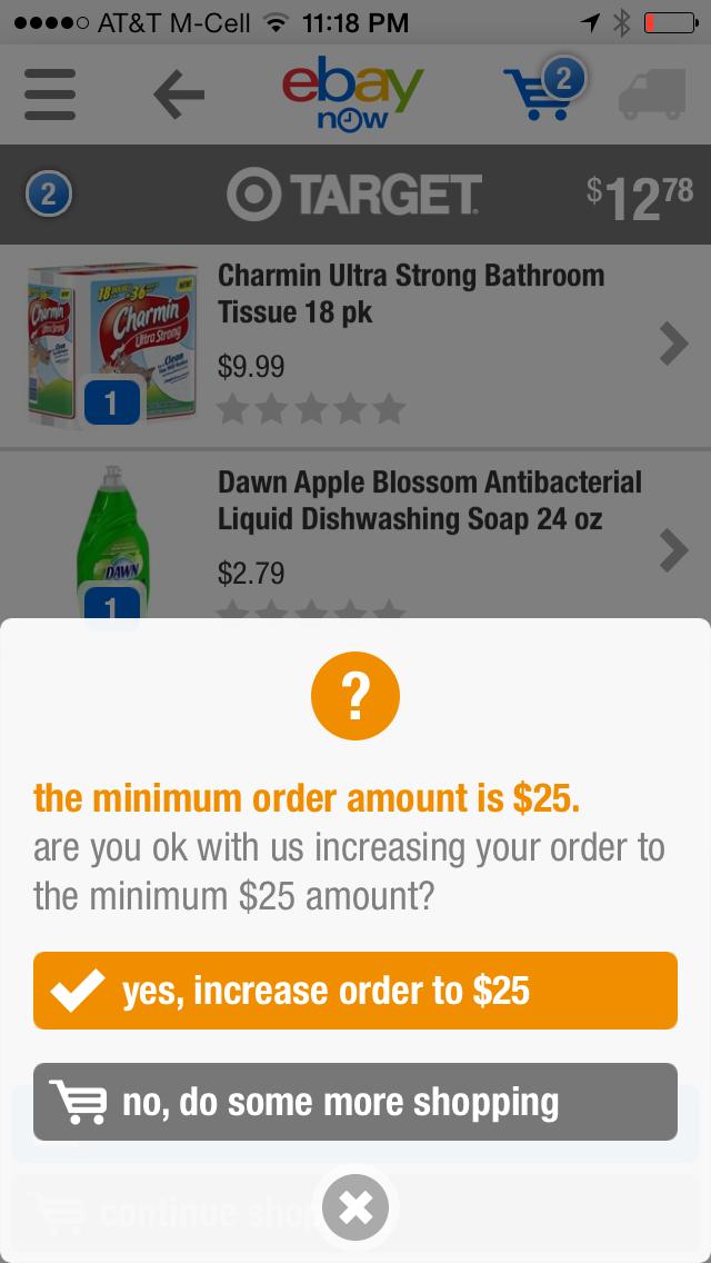 No, i'll keep shopping thank you!