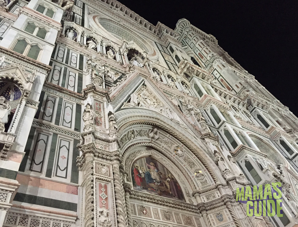 The duomo is in the center of Florence and was our main compass point. Having such a huge landmark made it really easy to get home down those winding streets!