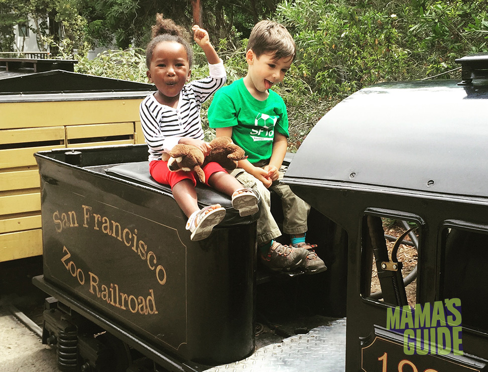 SF Zoo memberships include tickets for the train!