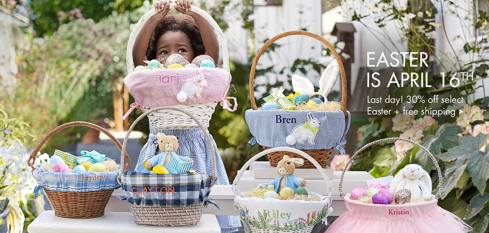 From the Pottery Barn Kids website for their Easter 2017 campaign!