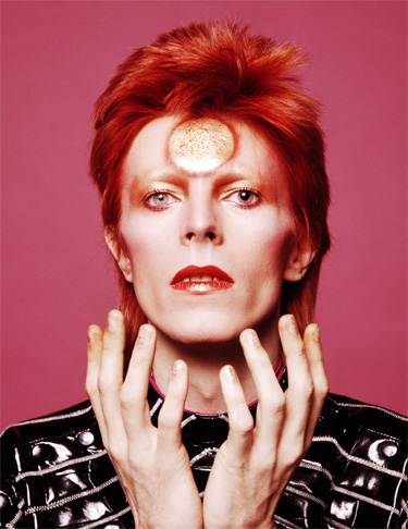 Starman David Bowie's natal moon is the fiery, theatrical sign of Leo.