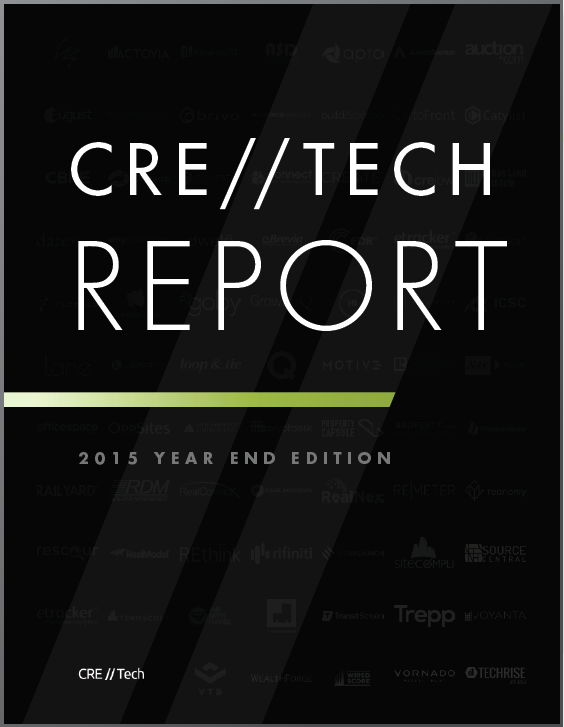 CRE Tech 2015 Year End Report