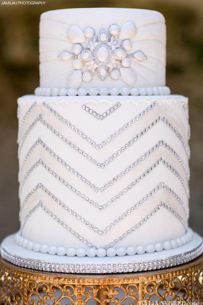 Gatsby Wedding Cake Art Deco Wedding CAke.jpg
