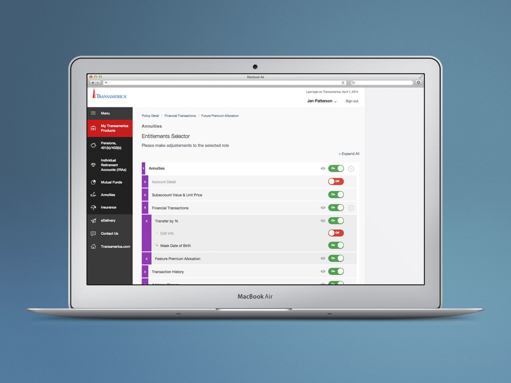 Creating elegant mobile firstdesign solutions for robust internal admin applications