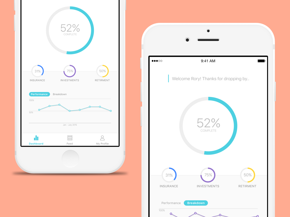 The Life Tracker App will change the way customers access their financial information