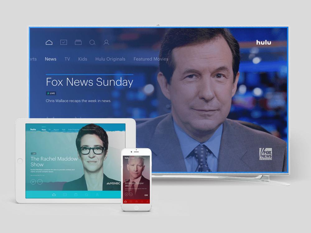 Hulu Live (Case study coming soon)