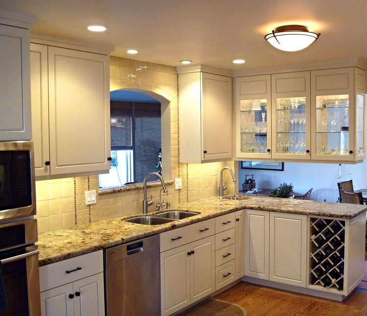 White Kitchens — Artisan Home Builders