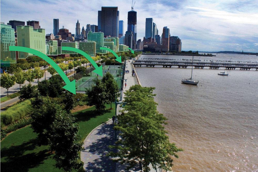 Image: Hudson River Park Trust. Graphic: Forum for Urban Design.
