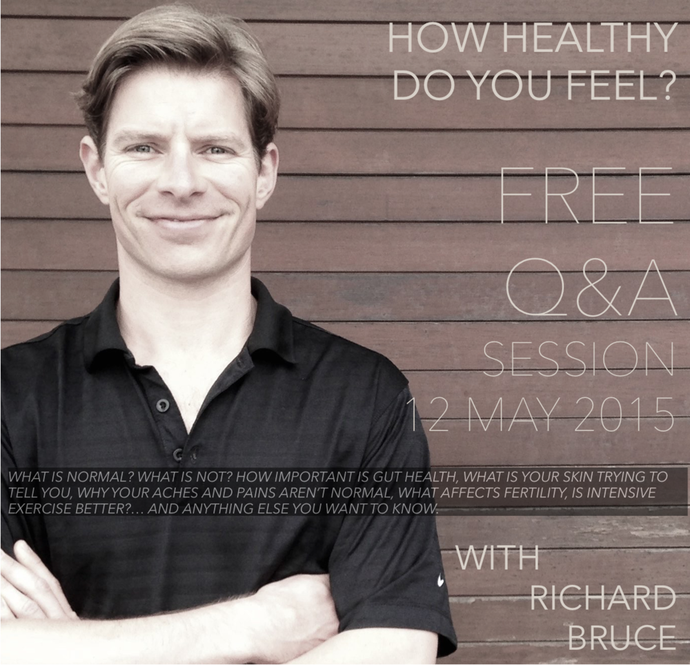 Free Q&A with Richard