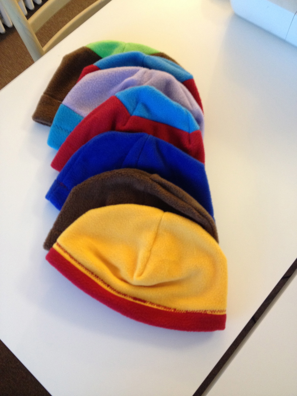 Sew Giving: Fleece Hats