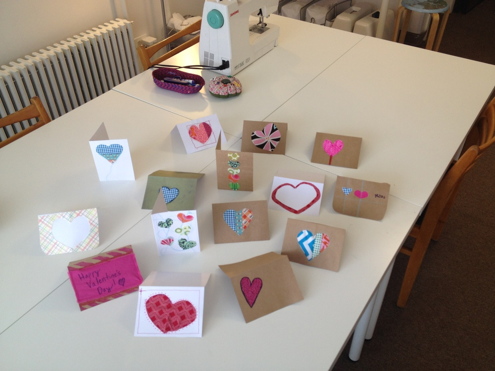 Sew Giving: Valentine's Day Cards for Kids
