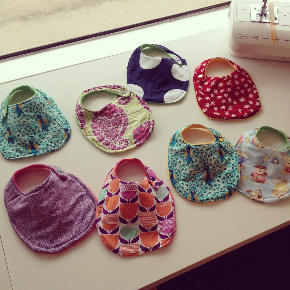 Sew Giving: Baby Bibs