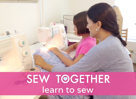 Sew You Studio | Sew Together: Parent & Child Learn to Sew Lesson