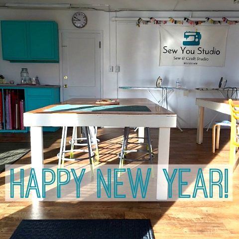 Sew You Studio | Happy New Year 2015!
