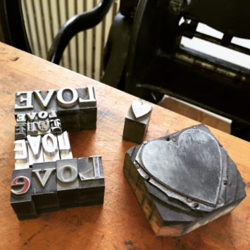 Sew You Studio | Letterpress Open House Event February 6, 2015