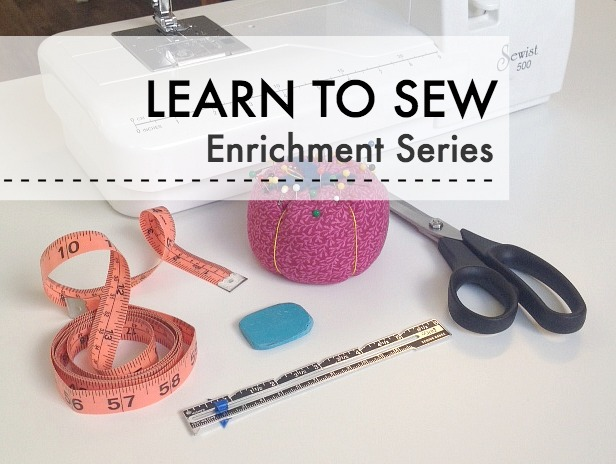 Sew You Studio | Enrichment Series for Homeschoolers: Learn to Sew