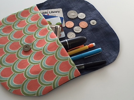 Sew You Studil | Cute as a Button Purse