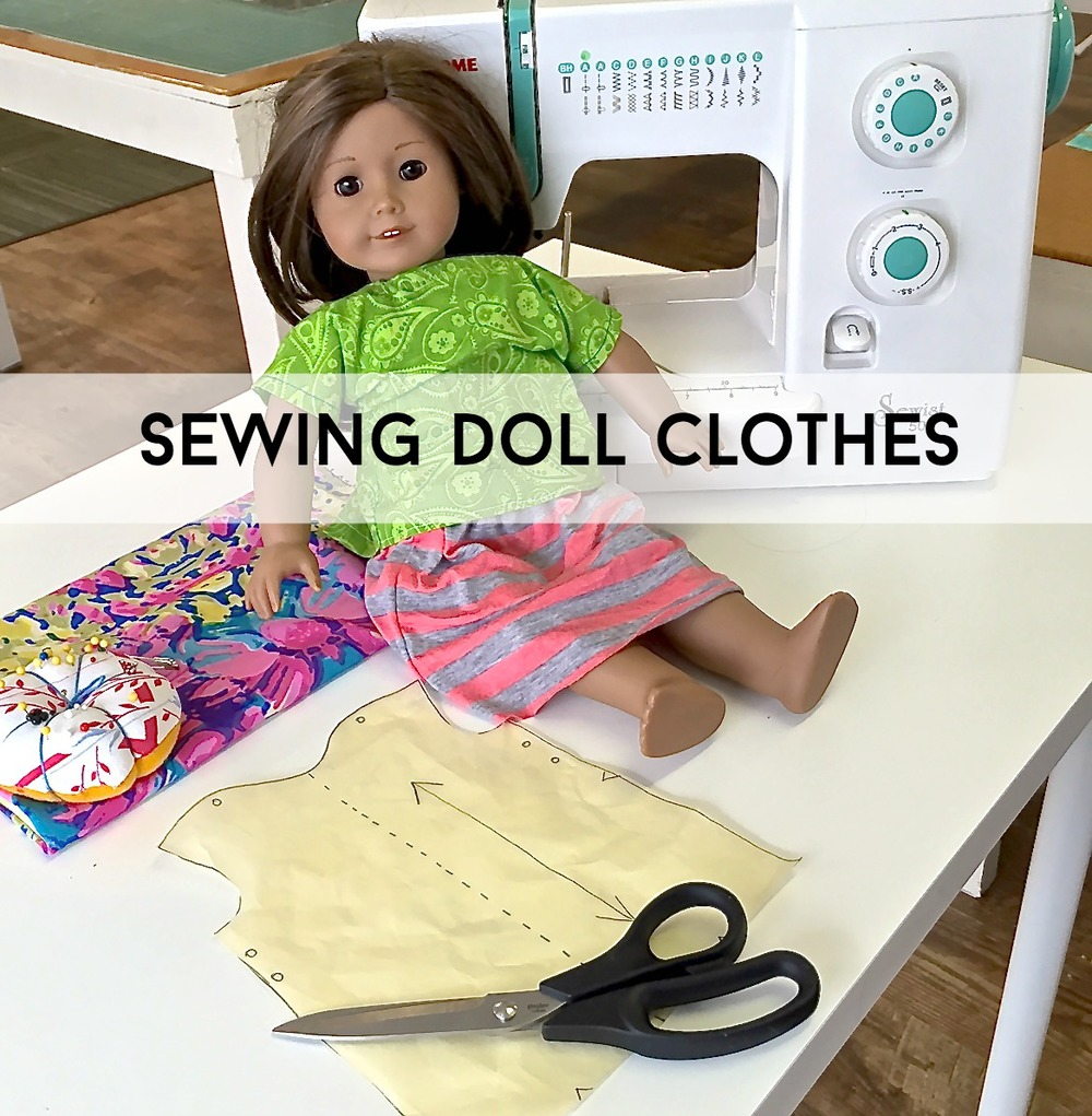 Sew You Studio | Sewing Doll Clothes: BLOUSE/DRESS