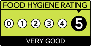 The Moral Fibre Food kitchen has been awarded a 5 star rating by the Food Standards Agency