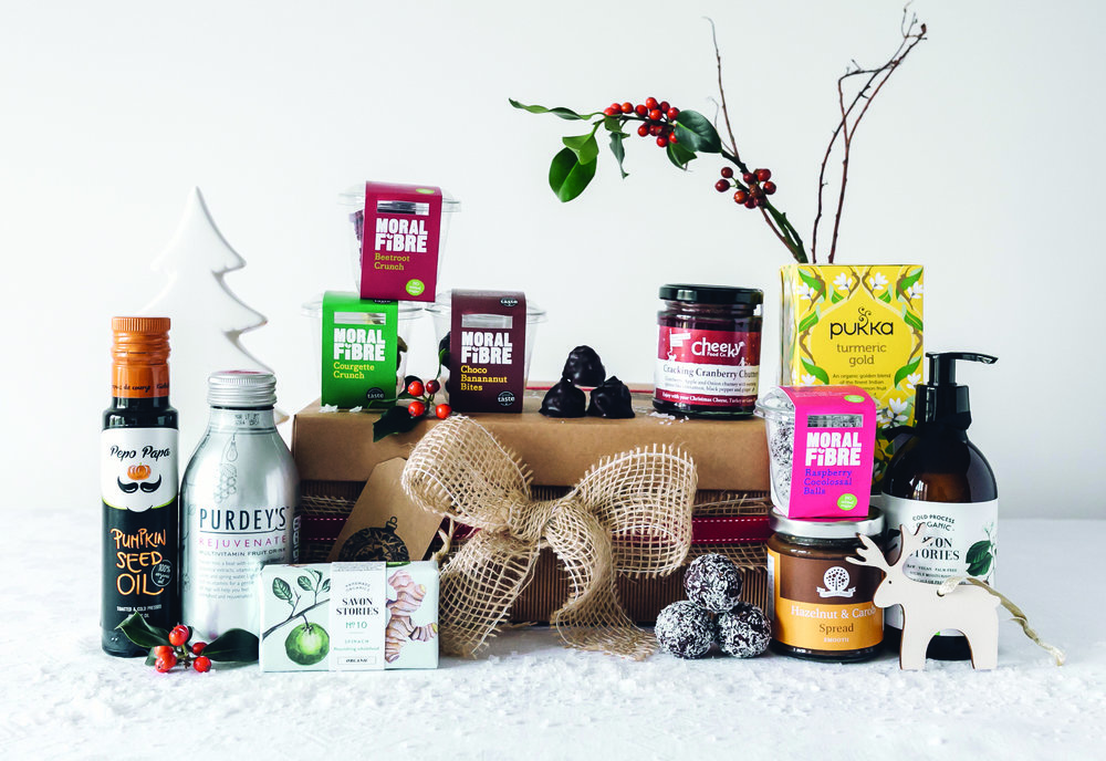 Brand new Christmas hamper. Photography by Hung Quach.